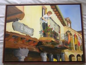 Detalle de la plaza de Pedraza