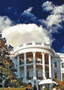 Nubes en la casa blanca
